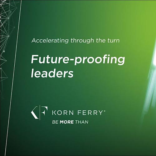 Accelerating through the turn: Future-proofing leaders Video Eğitimi