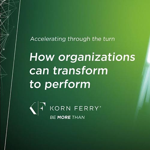 Accelerating through the turn: How organizations can transform to perform Video Eğitimi