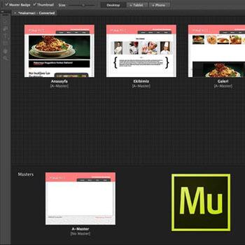 Adobe Muse ile Web Sitesi Tasarımı Video Eğitimi