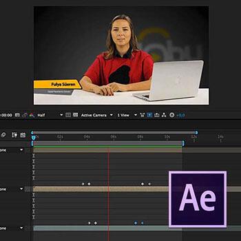 After Effects ile Bilgilendirme (KJ) Barı Oluşturmak Video Eğitimi