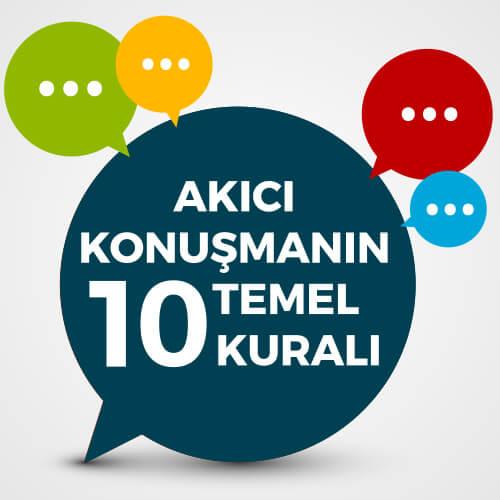 Akıcı Konuşmanın 10 Temel Kuralı Video Eğitimi
