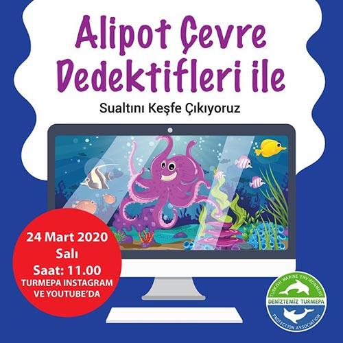 Alipot Çevre Dedektifleriye Sualtı Keşfi Video Eğitimi