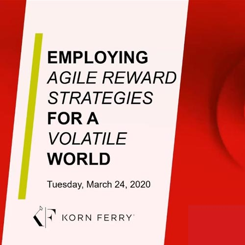 Employing Agile Reward Strategies for a Volatile World Video Eğitimi