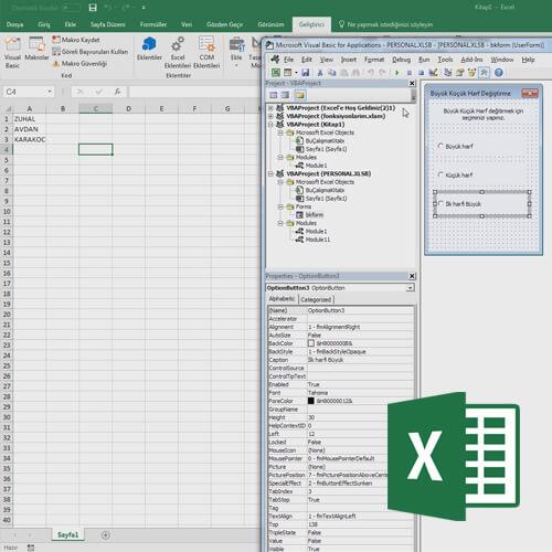 Excel ile Form Kullanımı ve Sorgu Oluşturmak Video Eğitimi