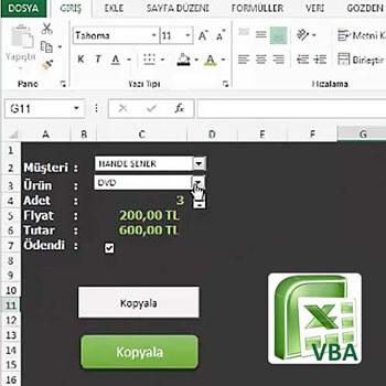 Excel Makro (VBA) Başlangıç Rehberi Video Eğitimi