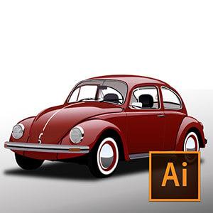 Illustrator ile Vektörel Araba Çizimi Video Eğitimi