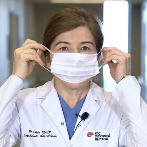 Koronavirüs: Maske Kullanımı Video Eğitimi