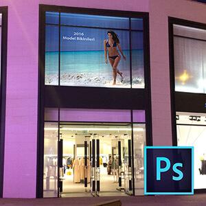 Photoshop ile Bina Giydirme ve Cam Kaplama  Video Eğitimi