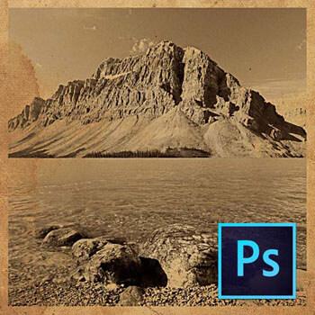 Photoshop ile Eski Fotoğraf Efektleri Oluşturmak Video Eğitimi