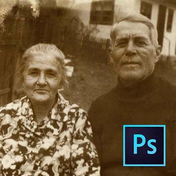 Photoshop ile Eski Fotoğrafları Düzeltmek (Restorasyon) Video Eğitimi