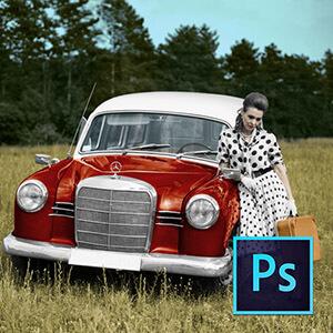 Photoshop ile Eski Fotoğrafları Renklendirmek Video Eğitimi