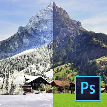 Photoshop ile Fotoğraflarda Mevsim Değişimi Video Eğitimi