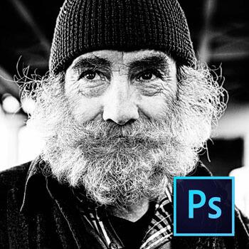 Photoshop ile Siyah Beyaz Fotoğraflarda HDR Kullanımı Video Eğitimi