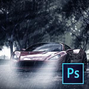 Photoshop ile Yağmur Efekti Oluşturmak Video Eğitimi