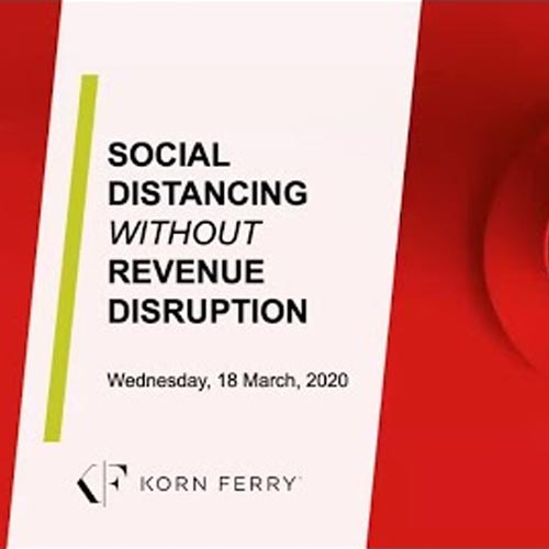Social Distancing Without Revenue Disruption Video Eğitimi