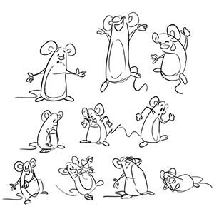 Karakter Vücut Hareketleri Çizimleri Video Eğitimi