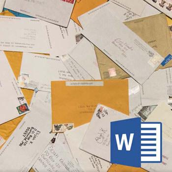Word 2010 En. ile Mail Merge (Adres Mektup Birleştirme) Video Eğitimi